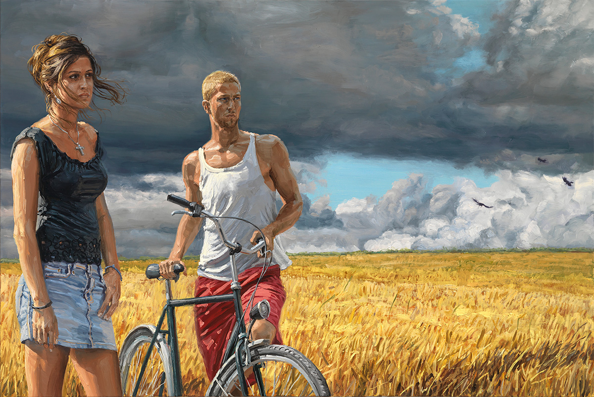 The Coming Storm, 2010, oil on linen, 100x150cm