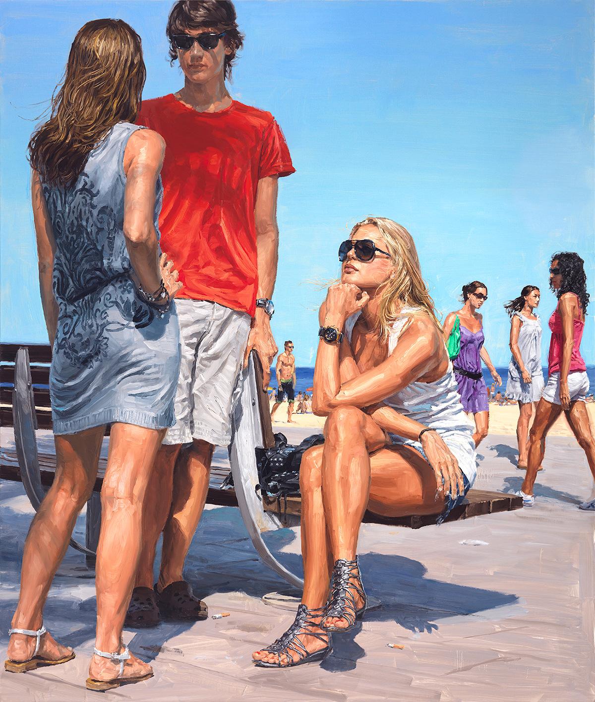 The Other Girl, 2010, oil on linen, 200x170cm