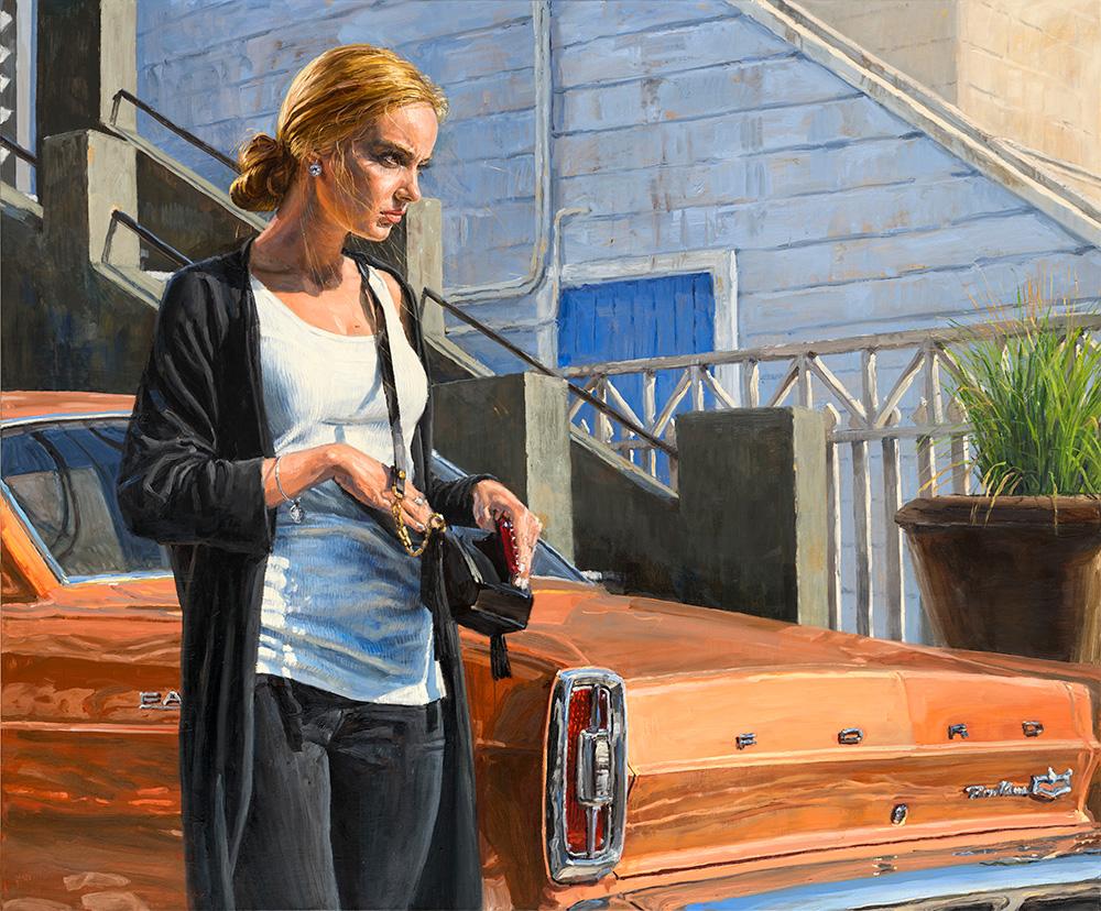 The Doubt, 2017, oil on linen, 150x180cm