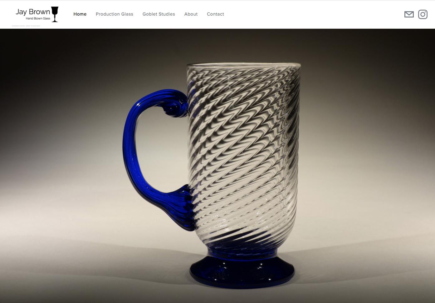 Jay Brown Glass - Glass Artist, Shelburne, Massachusetts