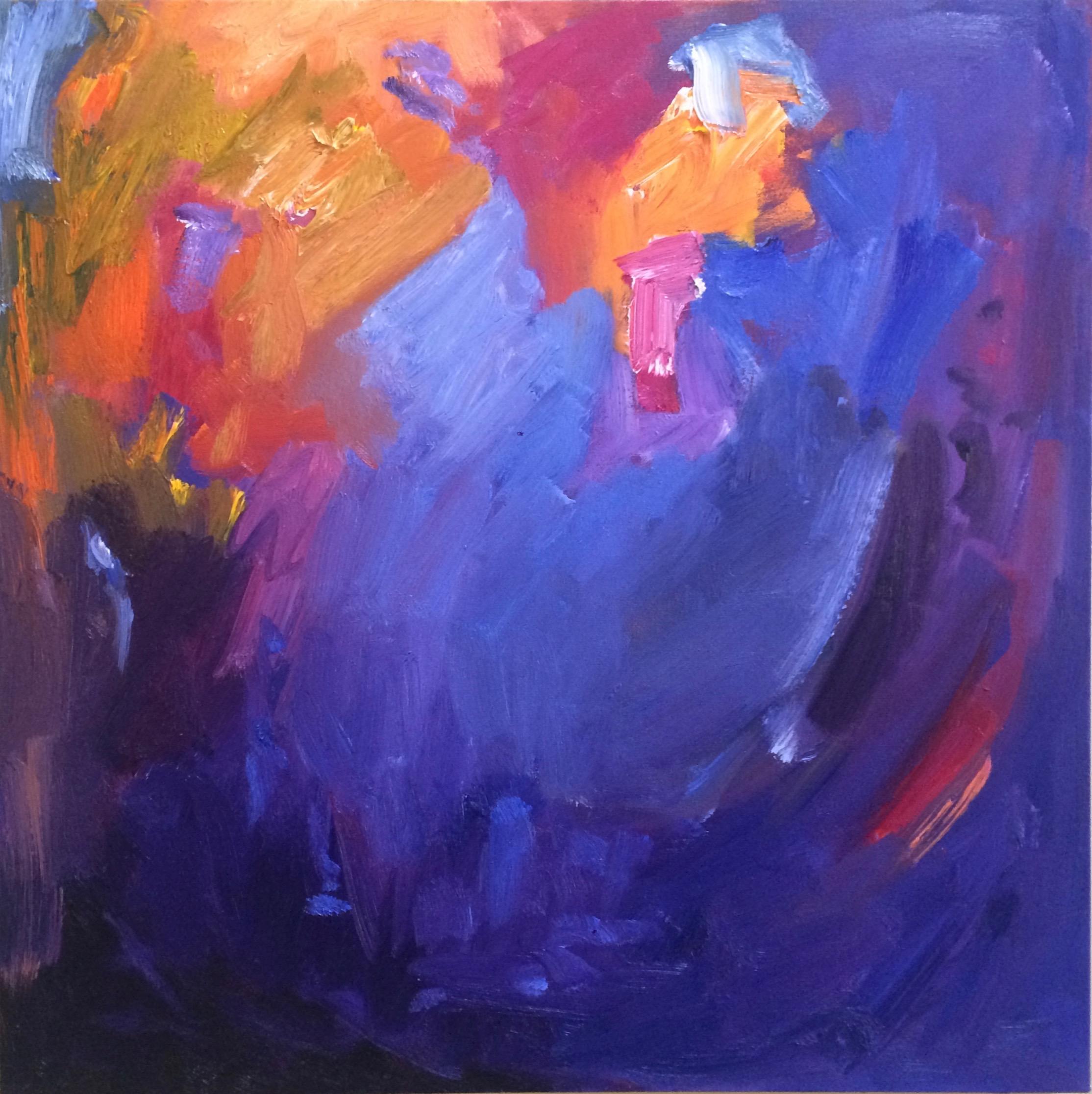 Blue Bay, 24 x 24, Oil on Canvas, $625