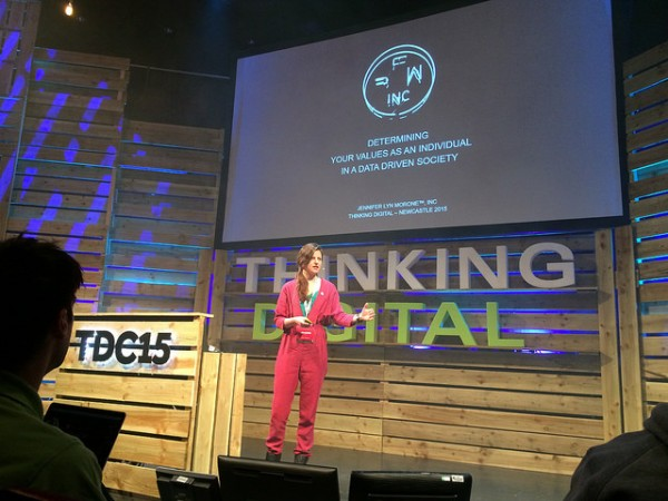 Thinking Digital Conference - Jennifer Marone