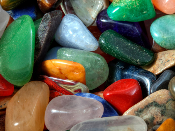 Pigments and Pebbles