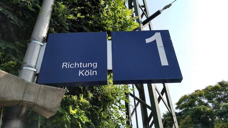 Richtung Köln