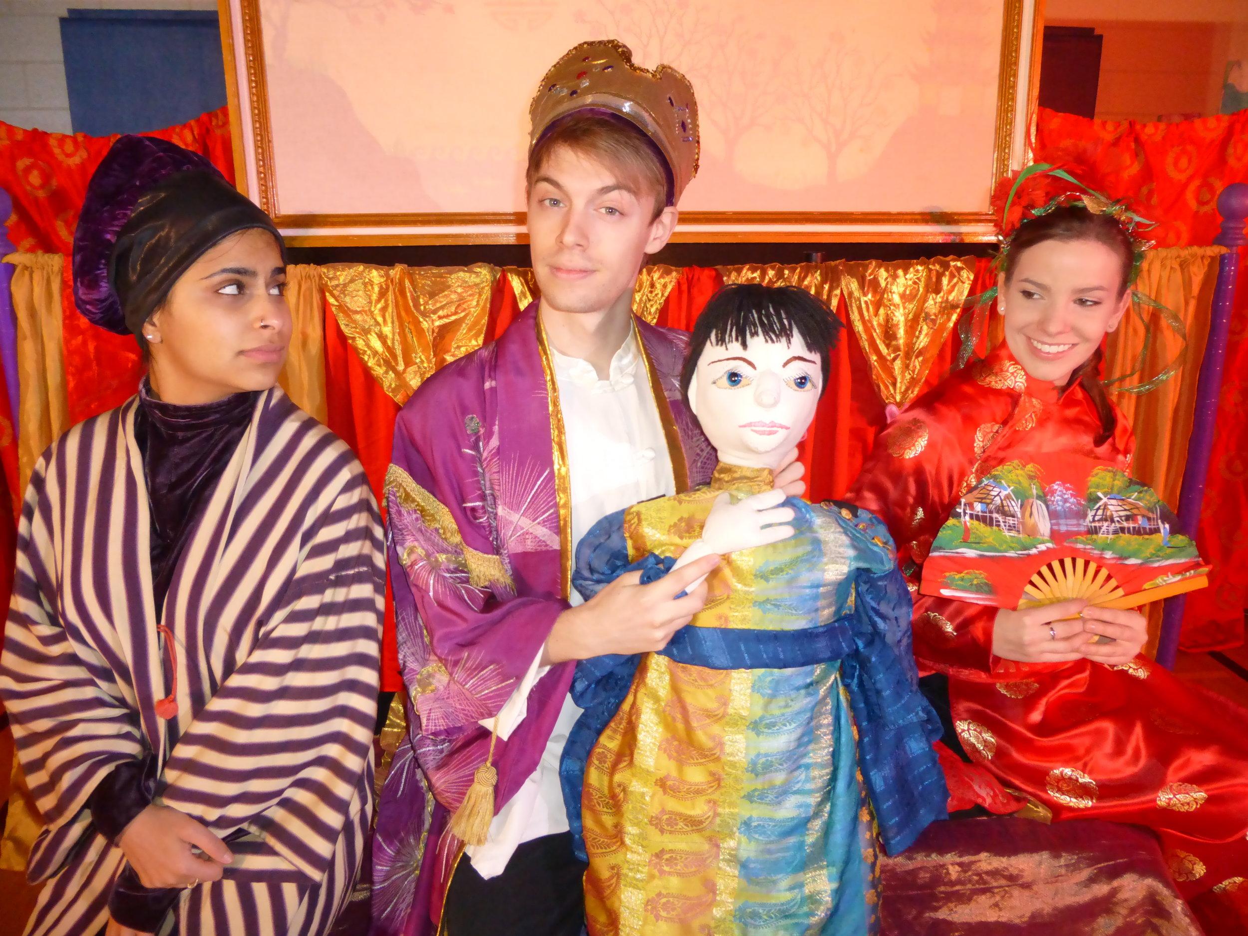 THE NIGHTINGALE   (2014) with Risha Nanda, Christopher Webb and Karyn McGibbon