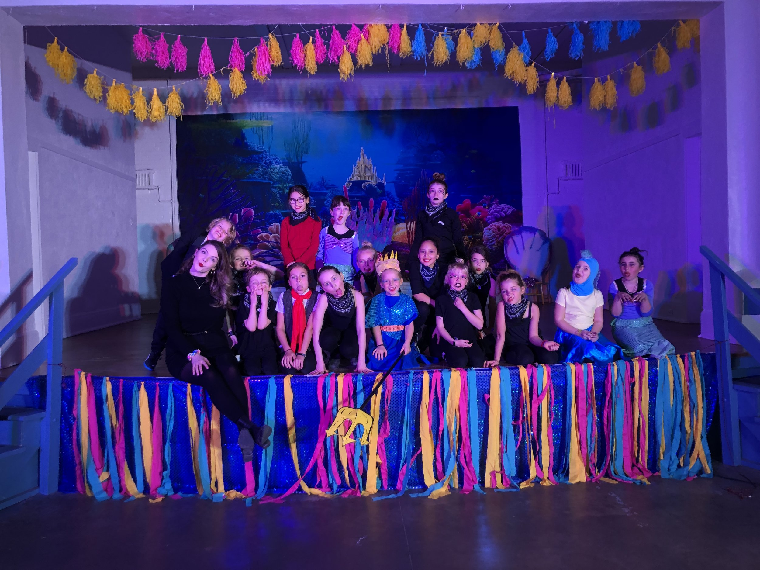 "STUDENT PERFORMANCE OF ""THE LITTLE MERMAID"""