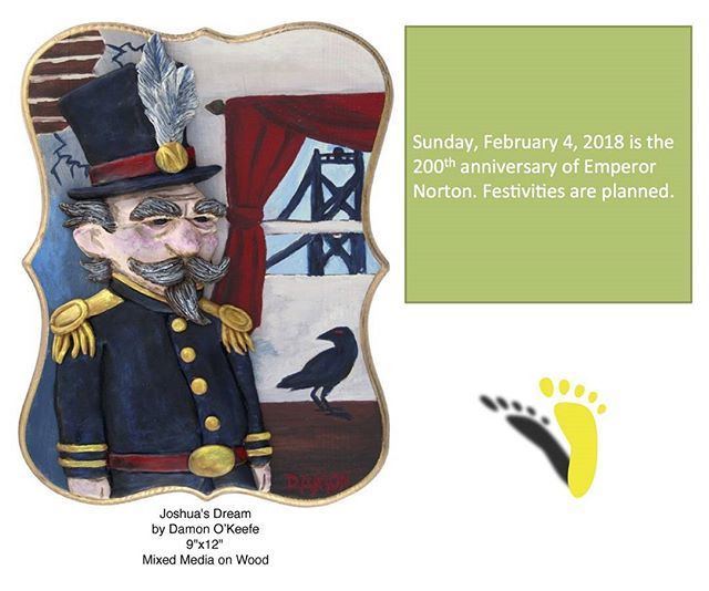 Save the date!  February 7 Norton Bicentennial Birthday Bash! #sfhistory #emperornorton #emperorsbridge #californiahistoricalsociety #history #sfpl #mecanicsinsititue #societycaliforniapioneers http://ow.ly/71eR30huBcO