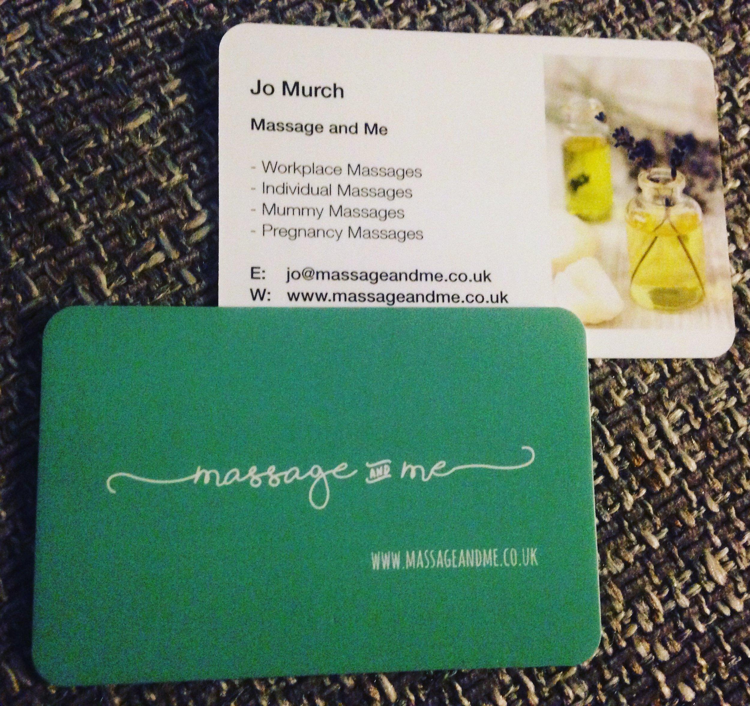 Business card goals