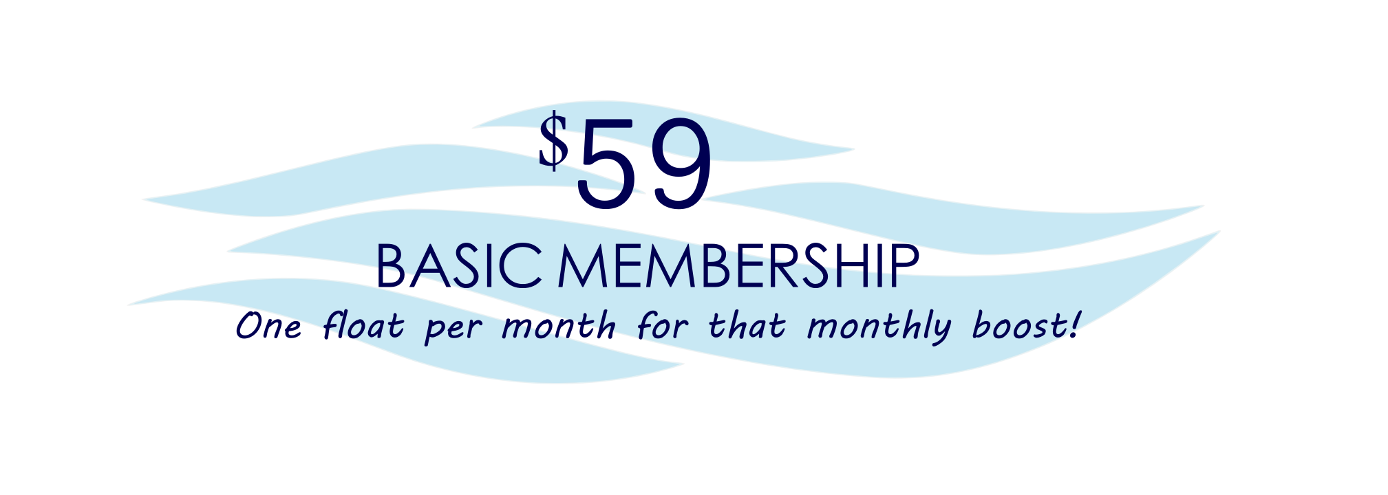 basic membership package for The Float Spa SF Sneads Ferry NC 28460