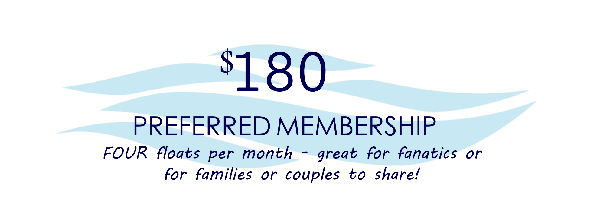 Preferred Membership _ The Float Spa SF _ Sneads Ferry, NC 28460