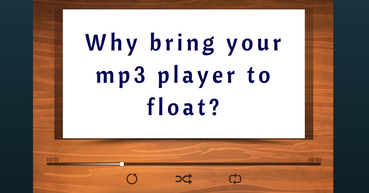 mp3 integration on flotation therapy pods