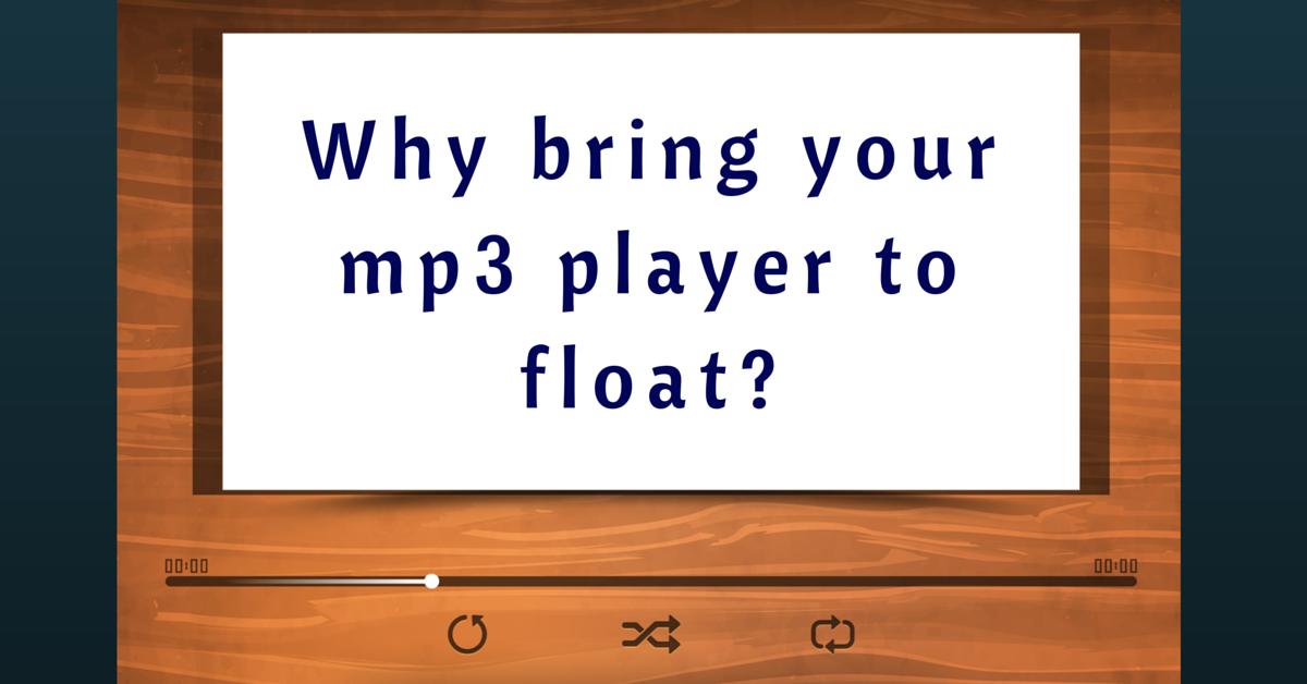 mp3 integration on flotation therapy pods