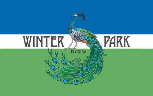 Winter Park is known for the wild peacocks that roam the old McKean estate.