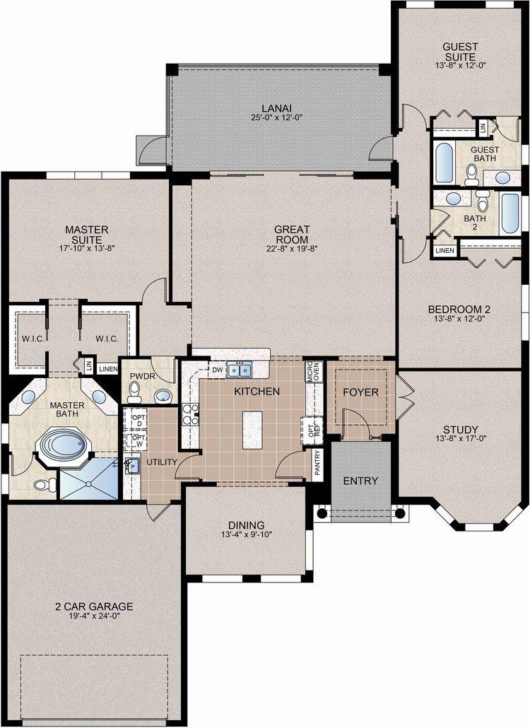 The Westchester Floor Plan