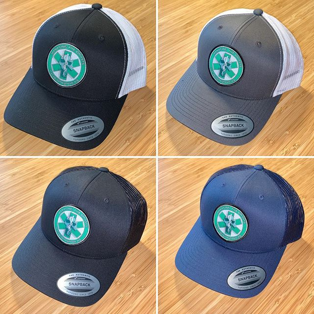 Managing the Ghosts hats are available! 4 options to choose from. $25 each. Proceeds go right back into the fund to make more. Help us spread the word by sharing with friends and family. Direct link is available in our bio.  #firstresponders #lawenforcement #firefighter #ems #dispatch
