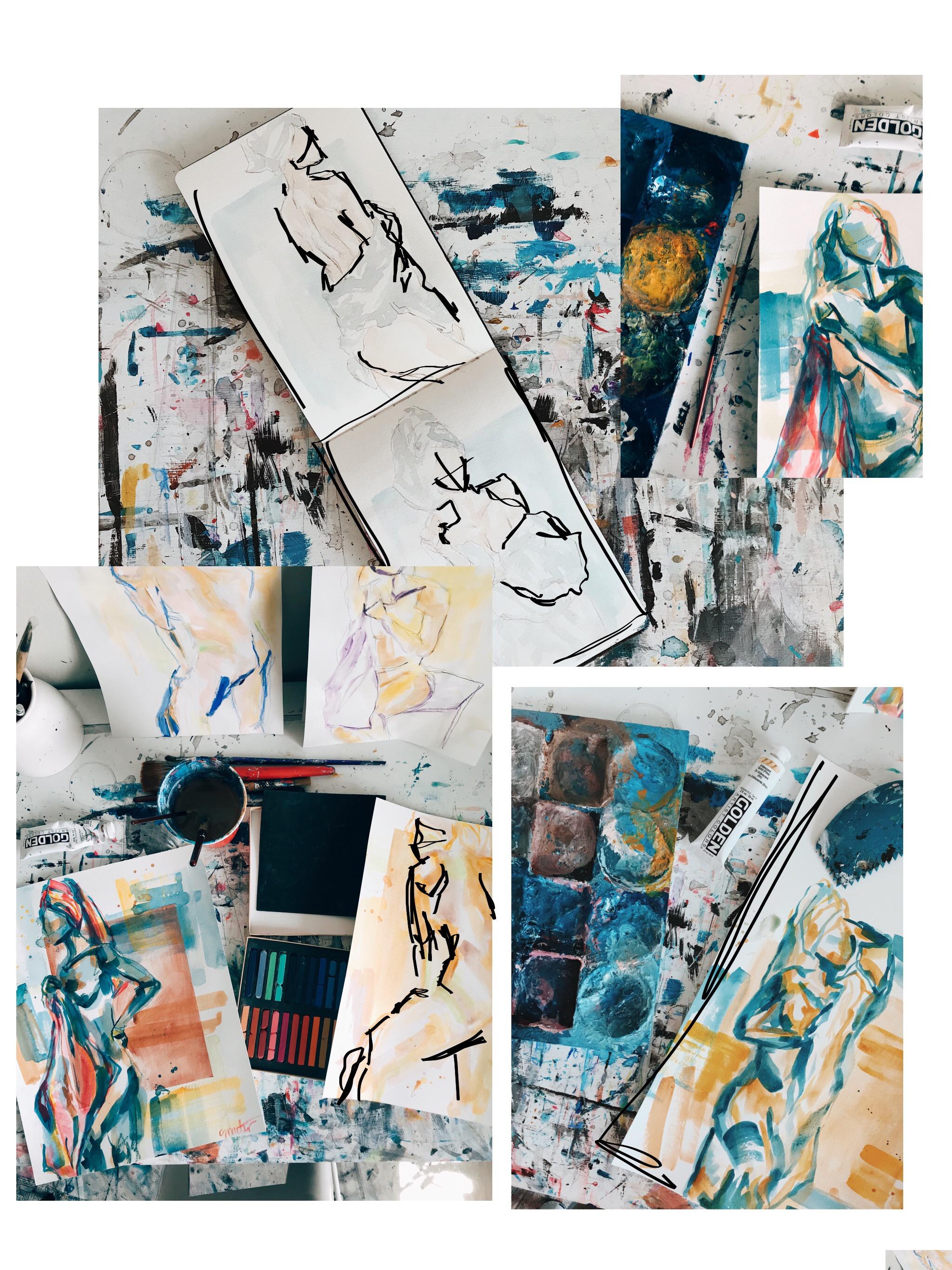sam-rueter-sketchbook-figure-paintings