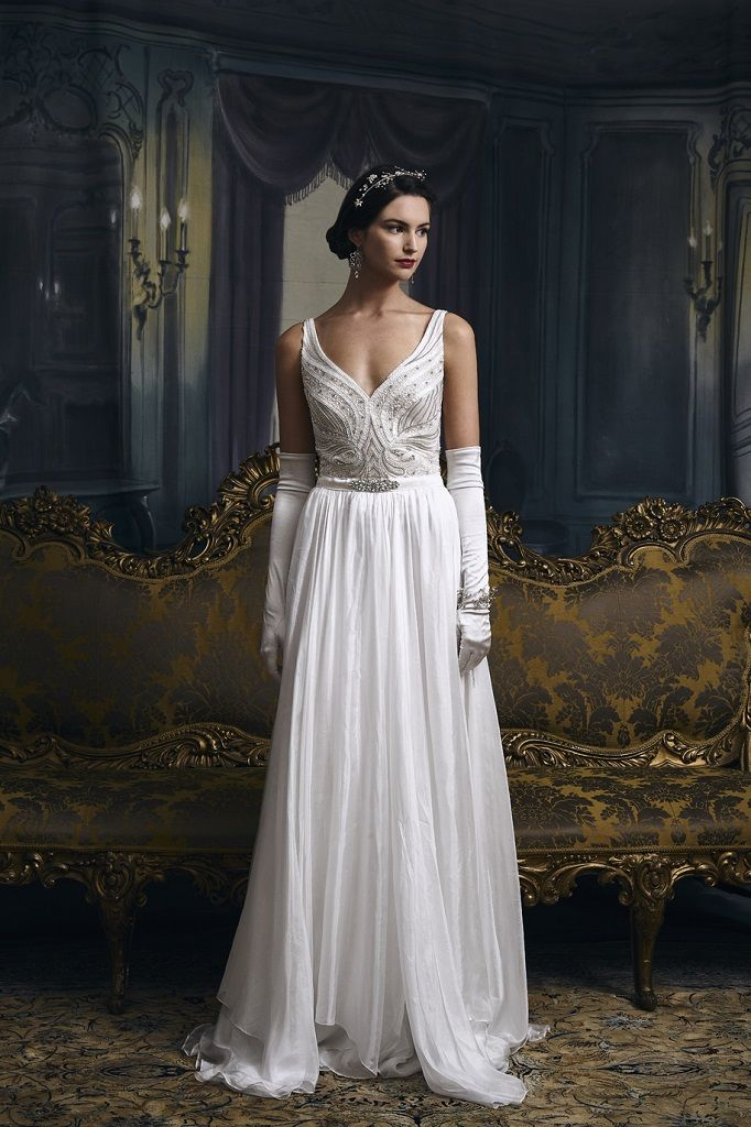 Eliza Jane Howell Wedding Dress Grace front