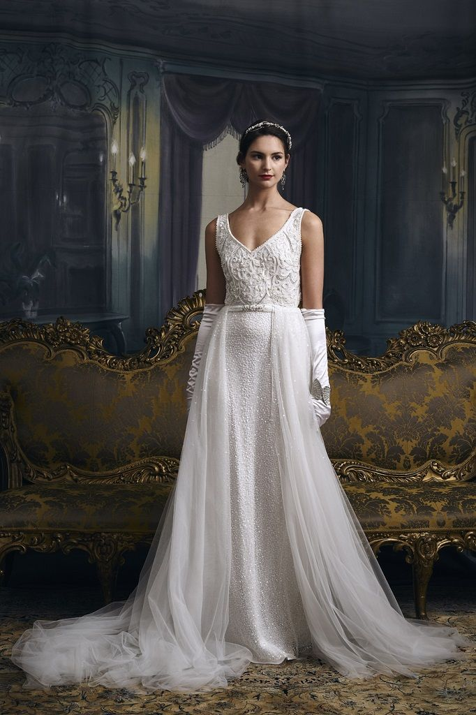 Eliza Jane Howell Wedding Dress Magnolia front
