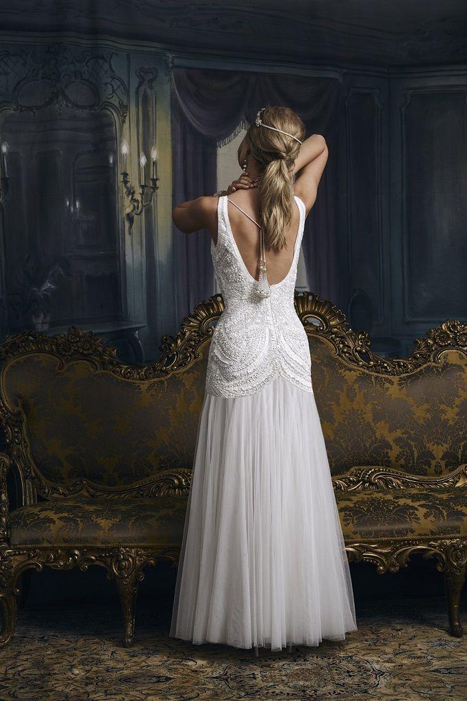 Wedding Dress Outlet Eliza Jane Howell Pepper back
