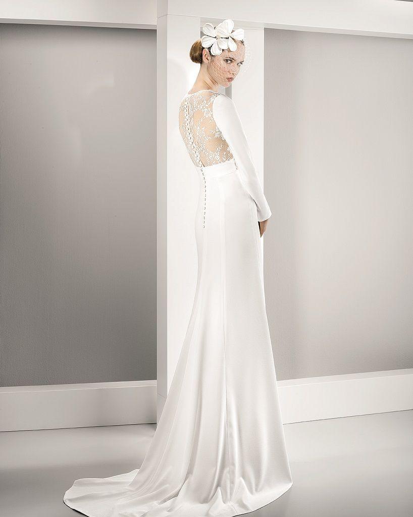 Wedding Dress Outlet Jesus Peiro 6057 back