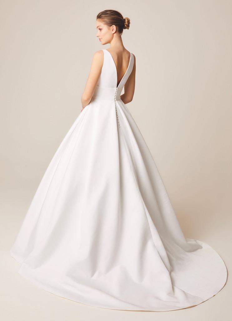 Jesus Peiro Wedding Dress 938 back