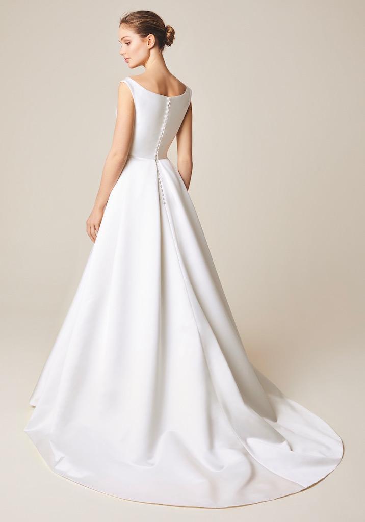 Jesus Peiro Wedding Dress 950 back