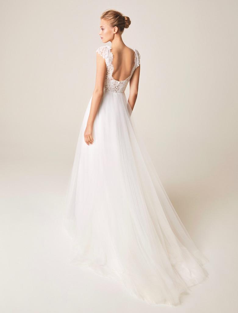 Jesus Peiro Wedding Dress 951 back