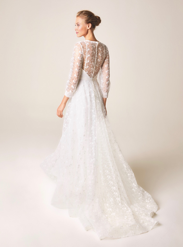 Jesus Peiro Wedding Dress 958 back