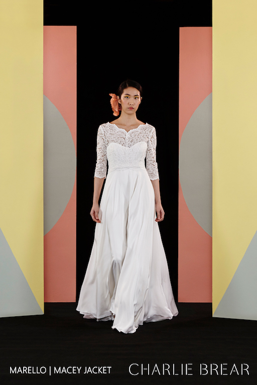Wedding Dress Outlet Charlie Brear Macey Top