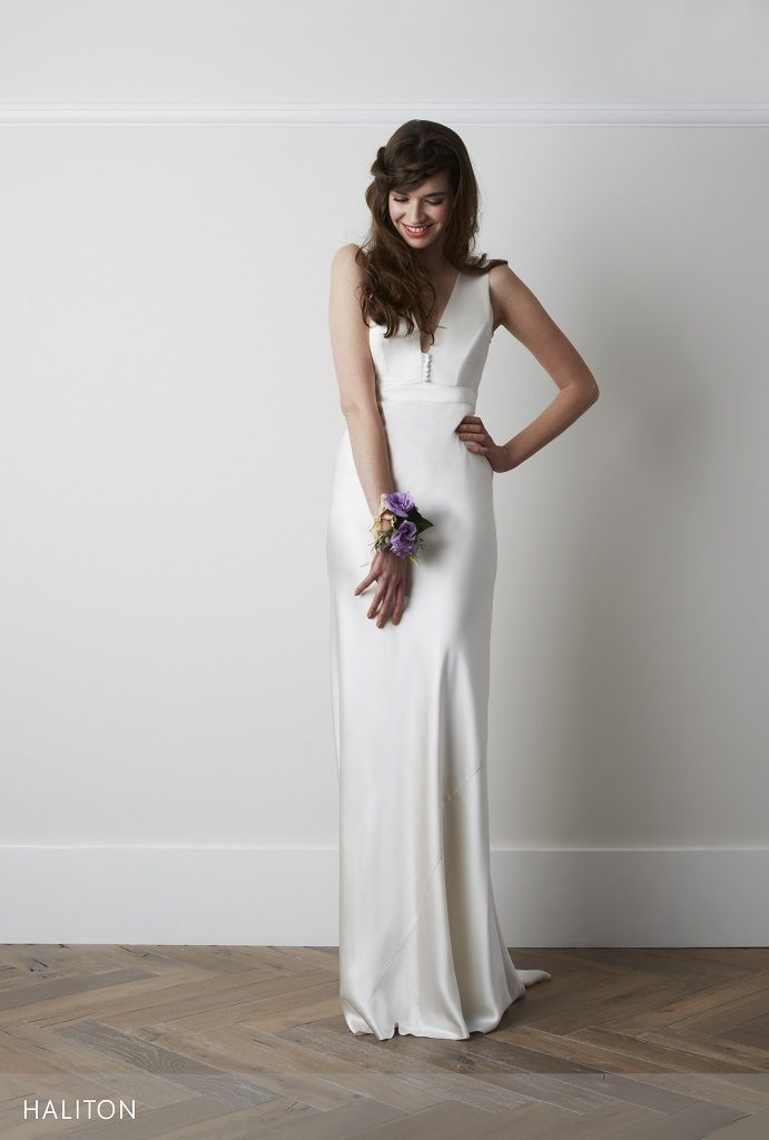 Charlie Brear Haliton | Bias Cut Wedding Dress