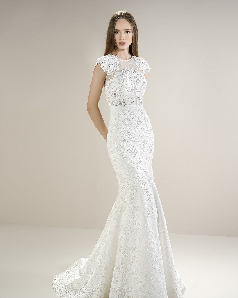 Jesus Peiro 8060 | Fishtail Wedding Dress