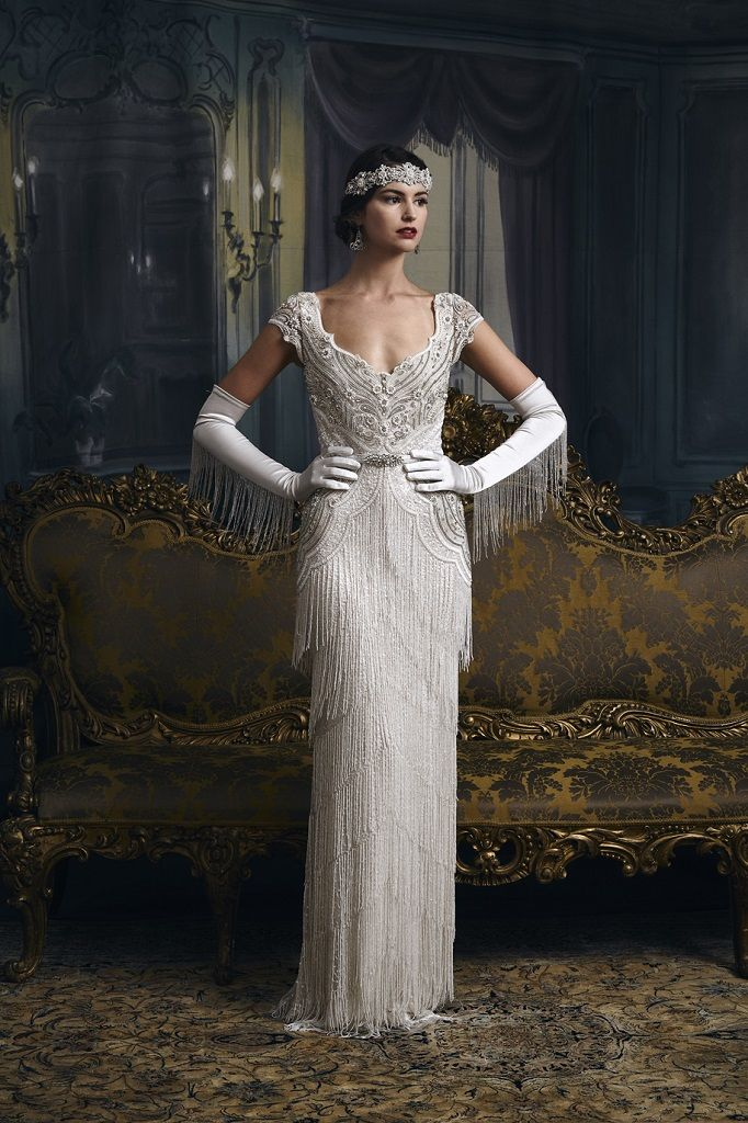 Eliza Jane Howell Carlotta | Column Wedding Dress