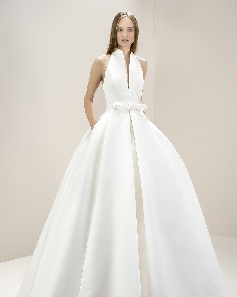Jesus Peiro 8007 | Halter Neck Wedding Dress