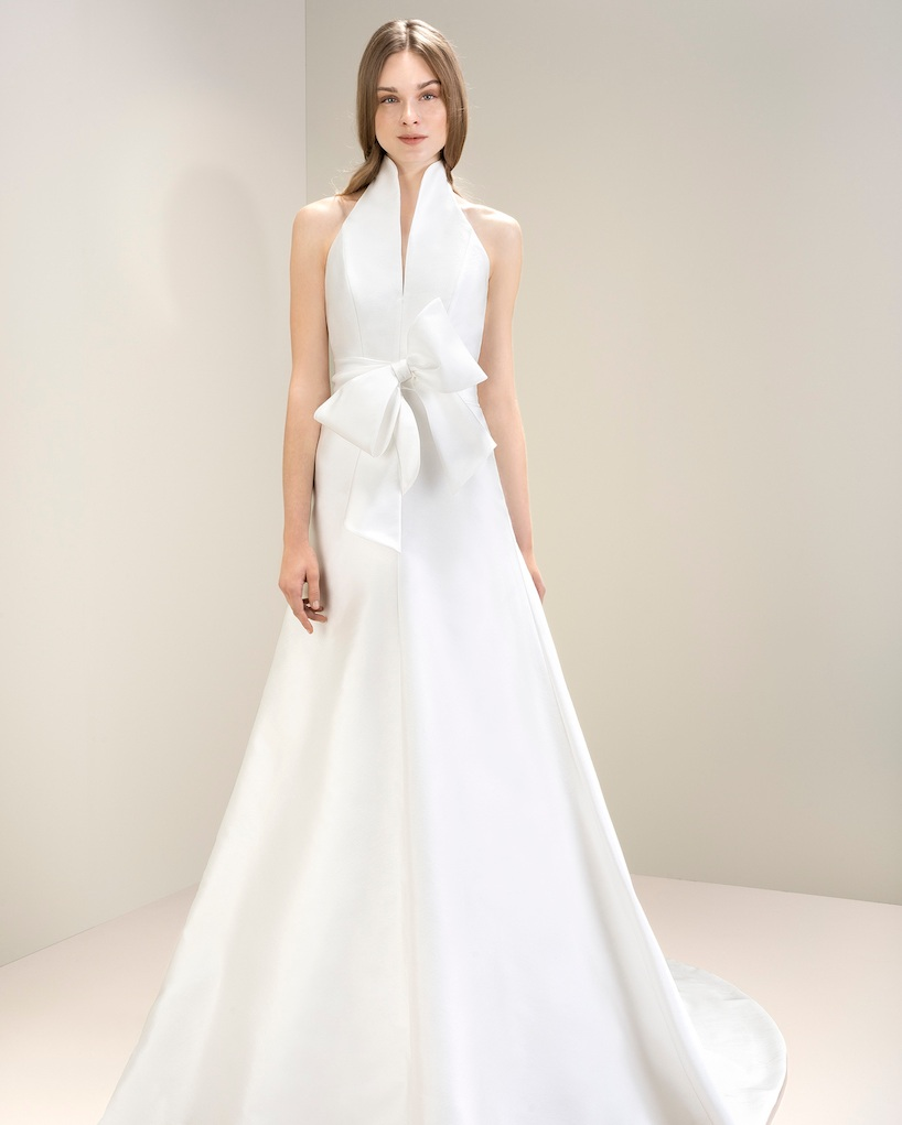 Jesus Peiro 7019 | Halter Neck Wedding Dress
