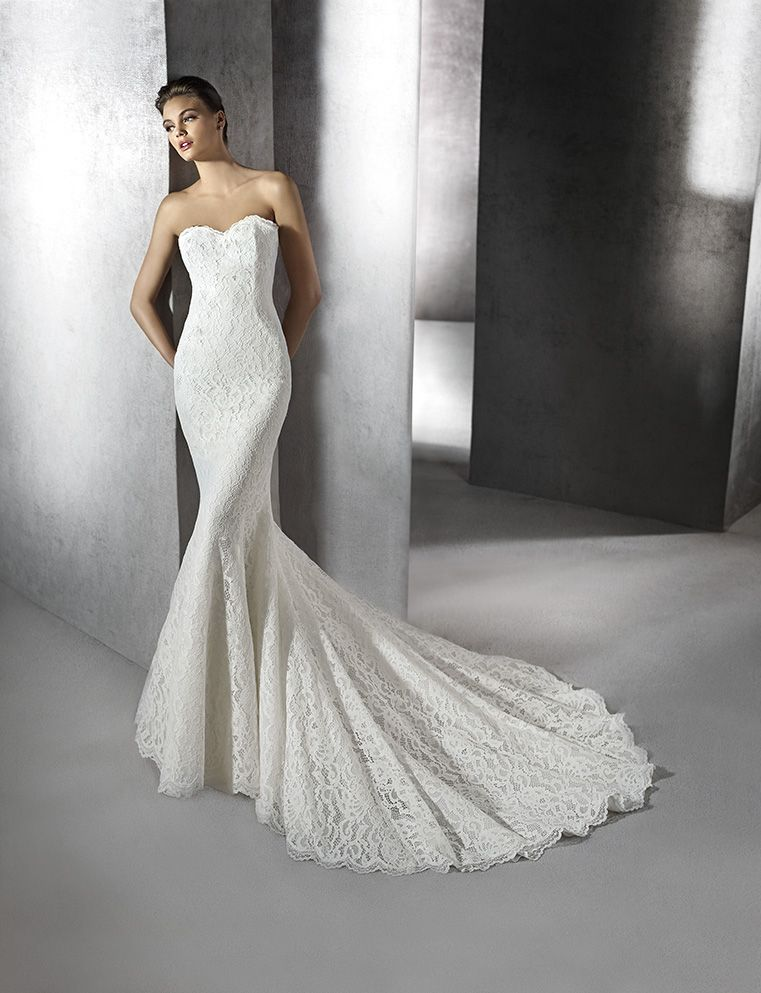 St Patrick Zoa | Strapless Wedding Dress