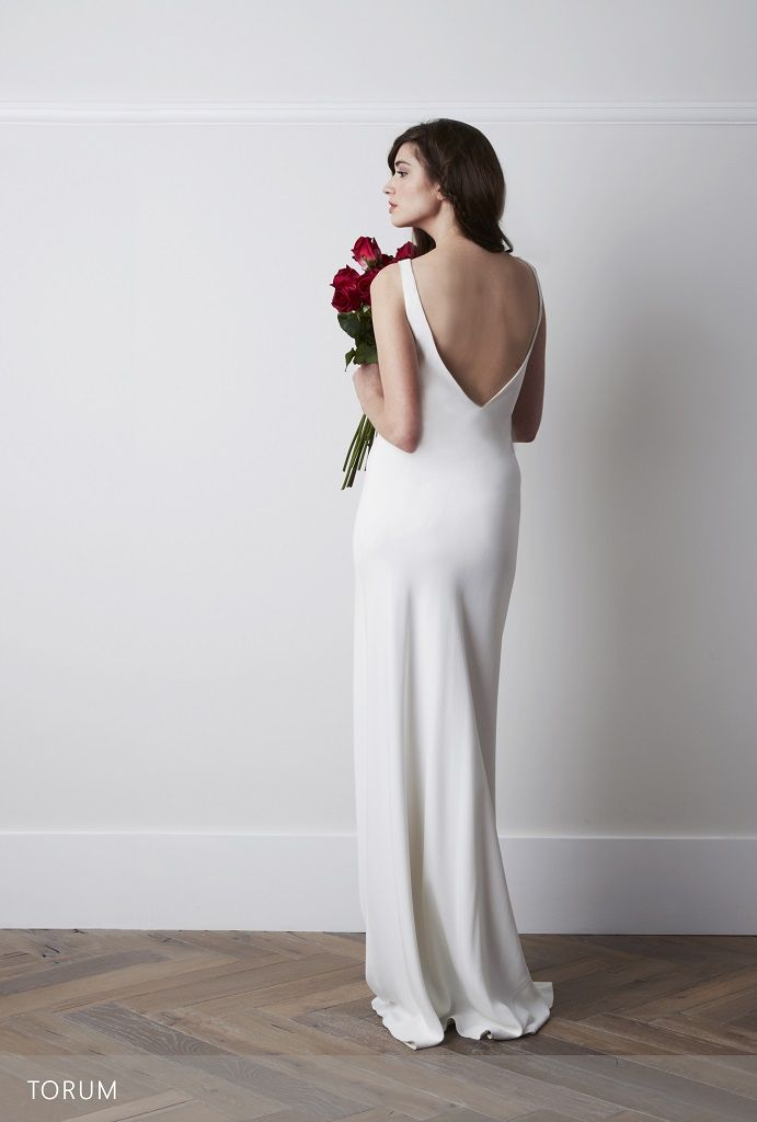 Charlie Brear Torum | Low Back Wedding Dress