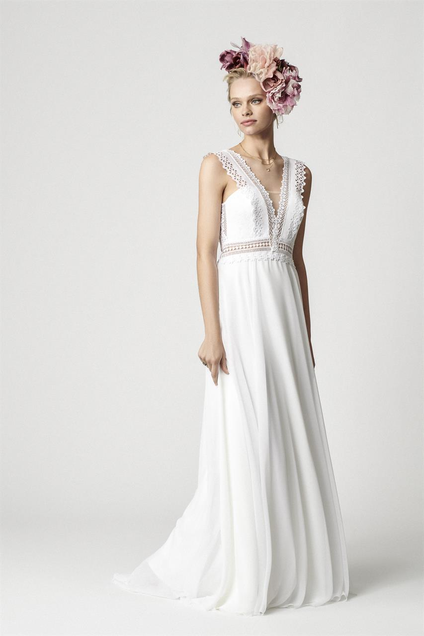 Rembo Styling Diaz 2020 wedding dress front