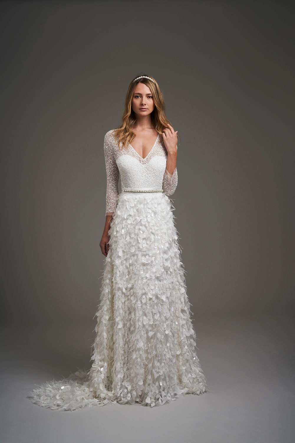 Eliza Jane Howell Astor Wedding Dress 2020 front