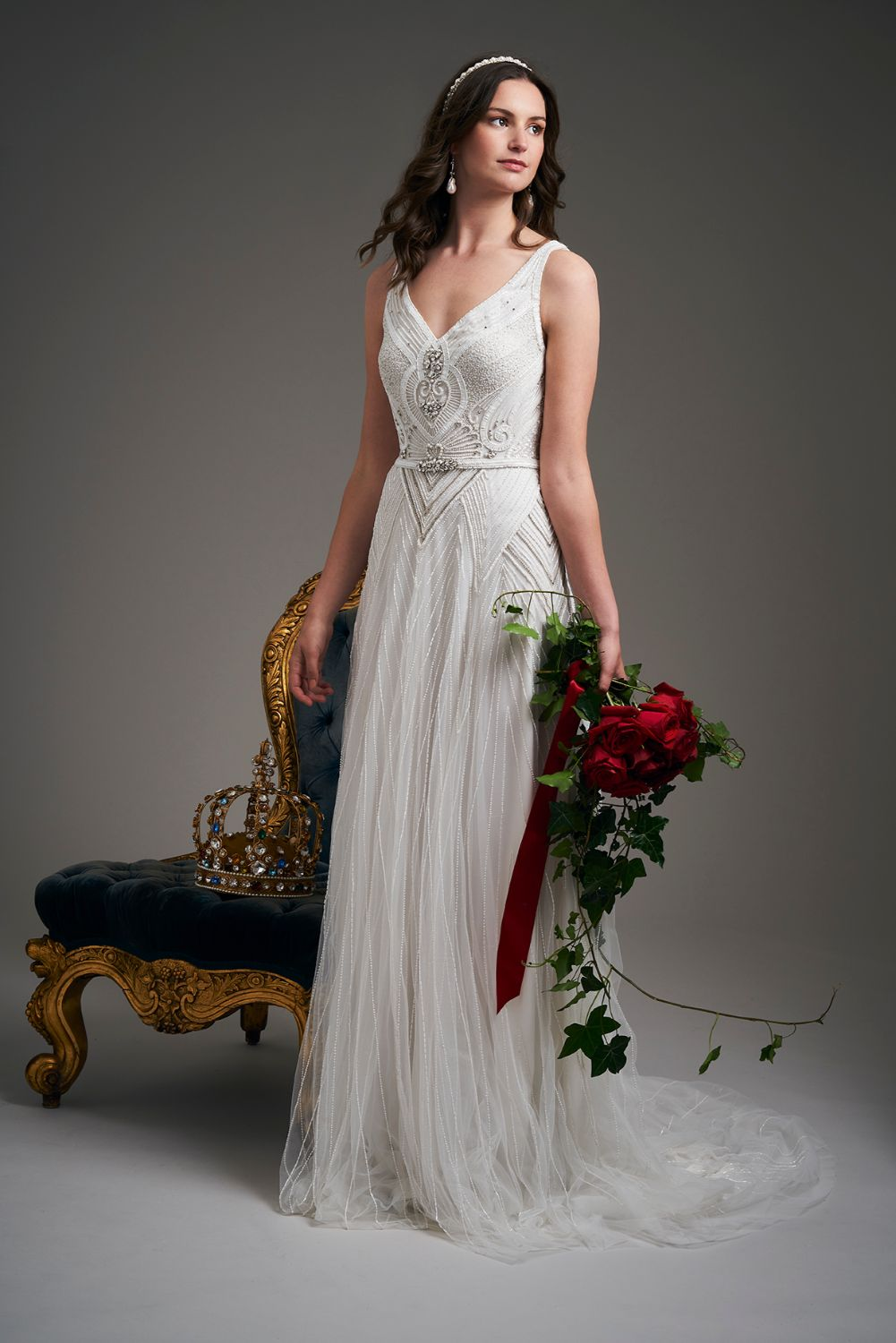 Eliza Jane Howell Tallulah Wedding Dress 2020 front