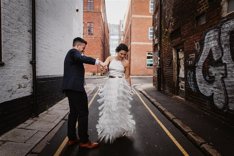 Real Brides Sheffield Charlie Brear Isere Skirt 15