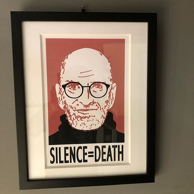 Museum quality hand screen printed for The Normal Heart watch party at the request of Larry Kramer. Available at Nightsweats.com #thenormalheart #larrykramer #gmhc #stonewall50 #silenceequalsdeath #actup #actupny