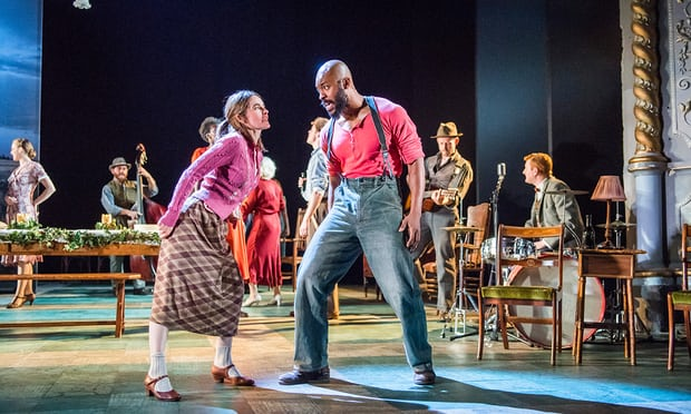 A superb cast use Bob's back catalogue to glorious effect in Conor McPherson's astonishing cross-section of hope and stoic suffering in Depression-era Minnesota - Michael BillingtonThe Guardian 27th July 17