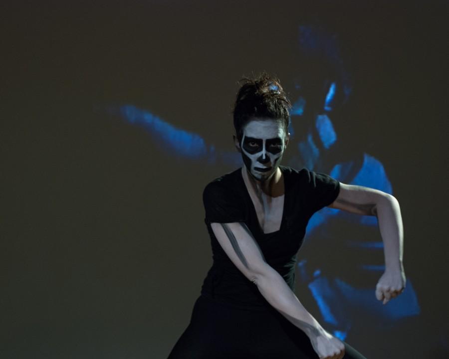 Isa Rosenberger, Espiral, 2010/13Tänzerin Amanda Pina, Fot:o Reinhard Mayr, Artothek des Bundes
