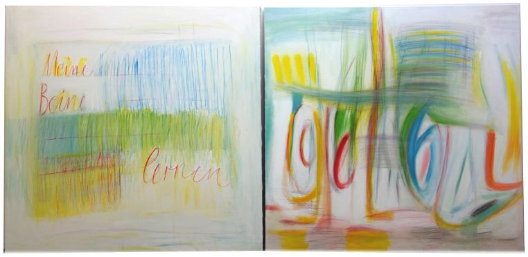 """""""Meine Beine lernen – Gehen"""", Elisabeth Bala (2017/18),  www.bala-art.com"""
