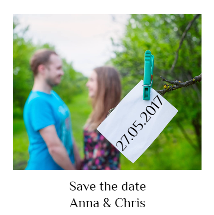 Save the Date Announcement Photo Inspiration
