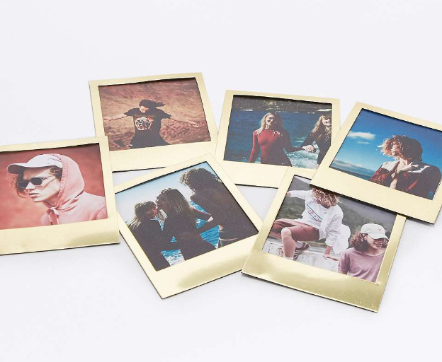 Gold Photo Frame Magnets