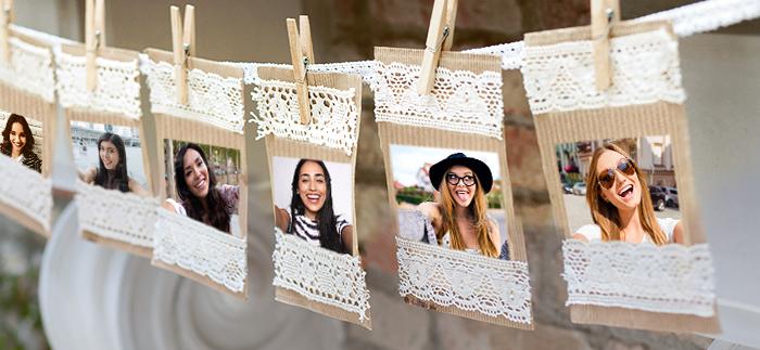 Meet the bridesmaids board