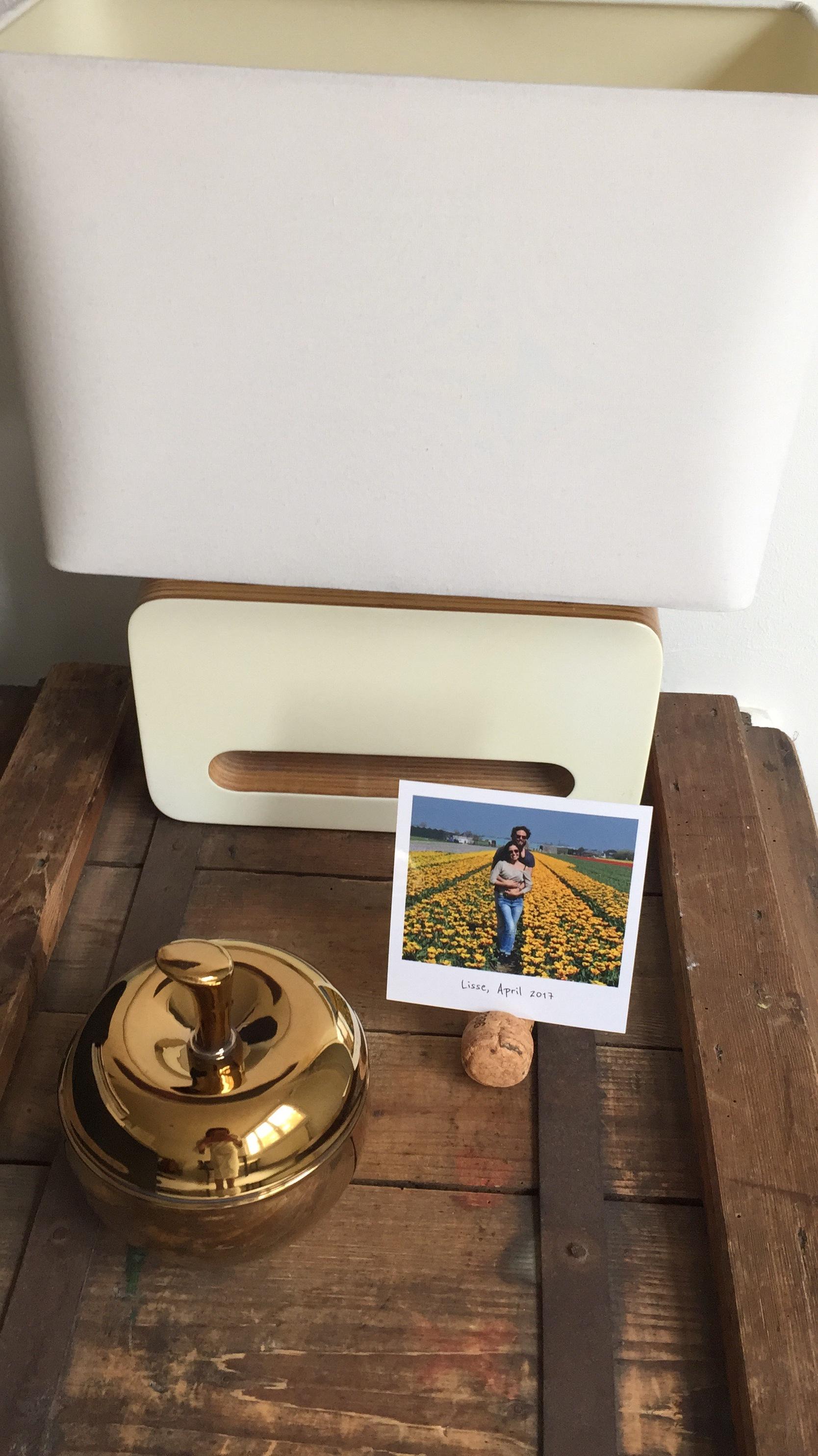 DIY Cork Photo Stand