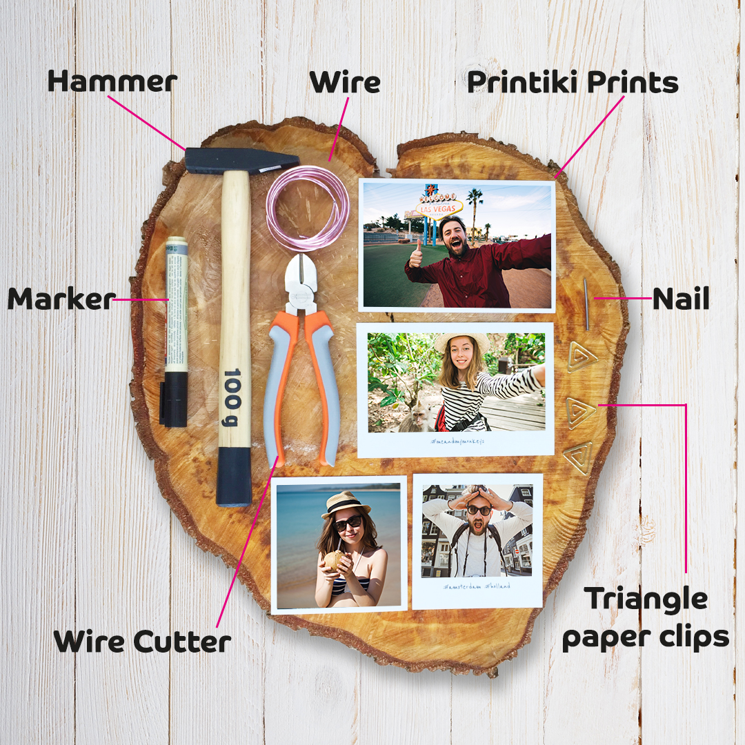 DIY Wood Block Photo Stand