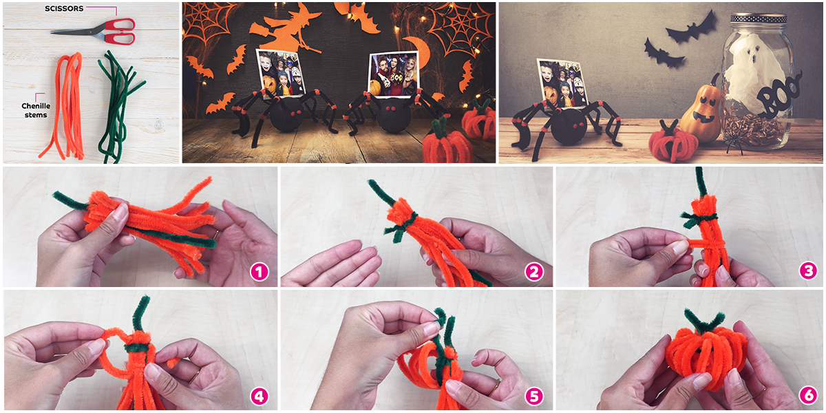 DIY Halloween Decoration Mini Pumpkin